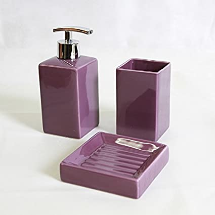 6 piezas Carpemodo baño de dispensador de jabón, jabonera ...