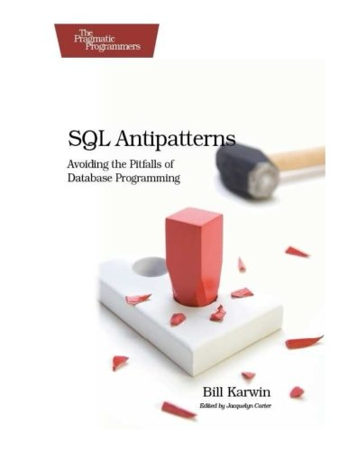 SQL Antipatterns: Avoiding the Pitfalls of Database Programming (Pragmatic Programmers) by Brand: Pragmatic Bookshelf