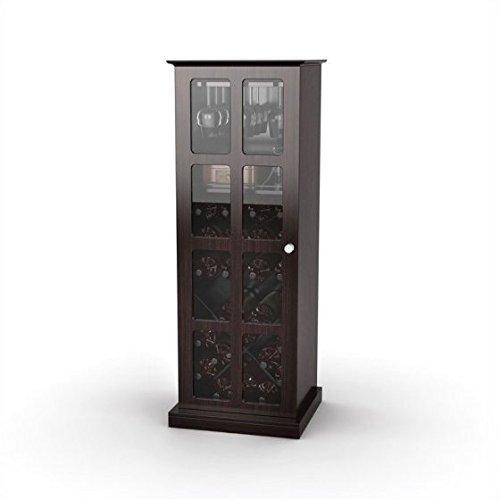 Atlantic Windowpane Wine Cabinet, Espresso by by Atlantic (Image #2)