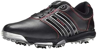 adidas Men's Tour360 X BOA Golf Shoe, Core Black/Core Black, 9.5 D(M) US