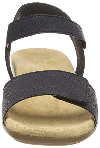 Blue Blue WoMen Dark 61566 14 8 Blue Rieker Pazifik Toe Closed UK Sandals nd0xw0XqC