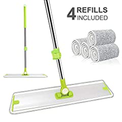 Quick Features   Best selling point  Glossy aluminum mop frame without any screws surface gives the perfect visual enjoyment  High Efficiency  Unique ladder-shaped frame with 360 degree swivel head, which is specially designed for tight corne...