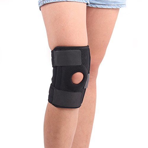 357184a63e Juemenzhe Knee Brace Support Sleeve for Arthritis, Meniscus Tear, ACL,  Running, Basketball, Sports, Athletic, MCL, Runners - Adjustable Open  Patella ...