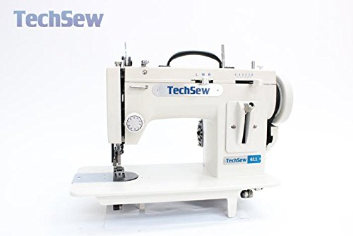 TechSew 611 Portable ZigZag & Straight Stitching Walking Foot Sewing Machine