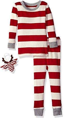 Burt's Bees Organic 2-Piece Pajama Set with Ornament