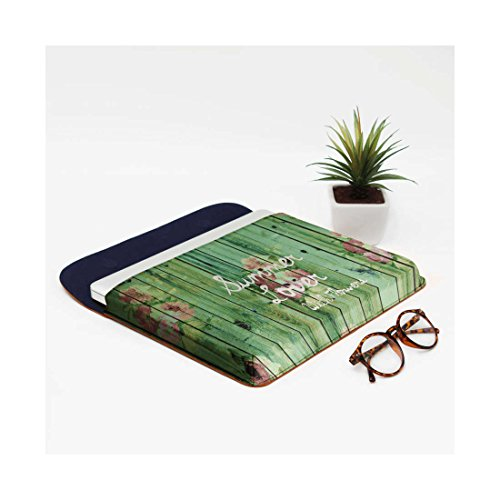 Real Summer Sleeve Macbook Leather Pro DailyObjects Air For 13 Flowers With Lover Envelope IwqFB
