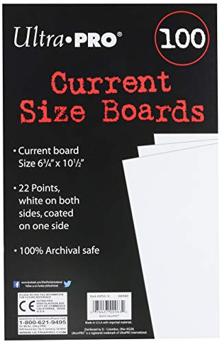 (Ultra Pro Current Size Boards, 6.75 X 10.5 (100 Count Pack))