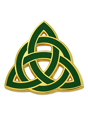 PinMart Celtic Trinity Knot Irish St. Patrick's Day Jewelry Enamel Lapel Pin