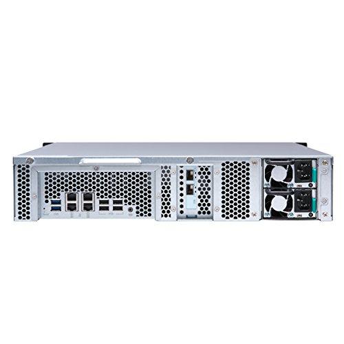 Qnap TS-1273U-RP-8G-US 2U 12-bay NAS/iSCSI IP-SAN, 10GbE, Redundant PSU by QNAP (Image #3)'