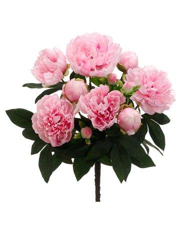 Amazon allstate floral craft silk flower peonies bush in pink allstate floral craft silk flower peonies bush in pink 15quot mightylinksfo