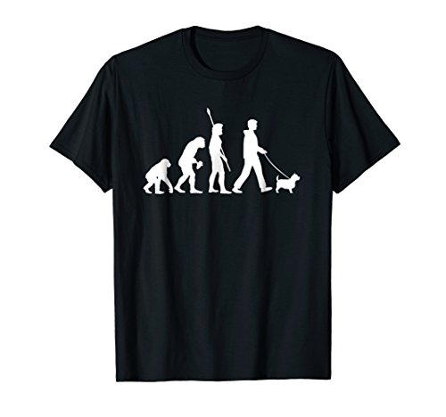 Norwich Terrier T-Shirt - Funny Dog Owner Evolution Gift