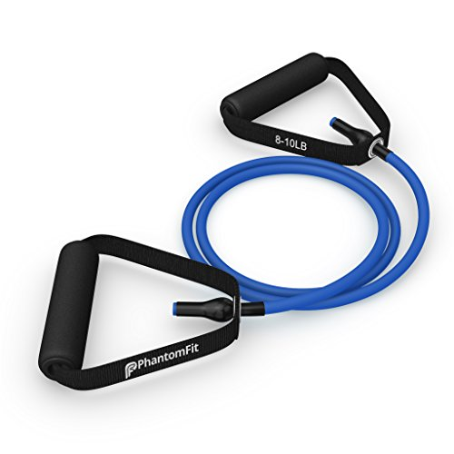Phantom Fit Resistance Bands With Handles - Blue 8-10 Lb.