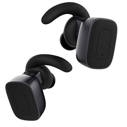 TechCode 소음 차단 Bluetooth V4.1 이어 스테레오 무선 이어폰..