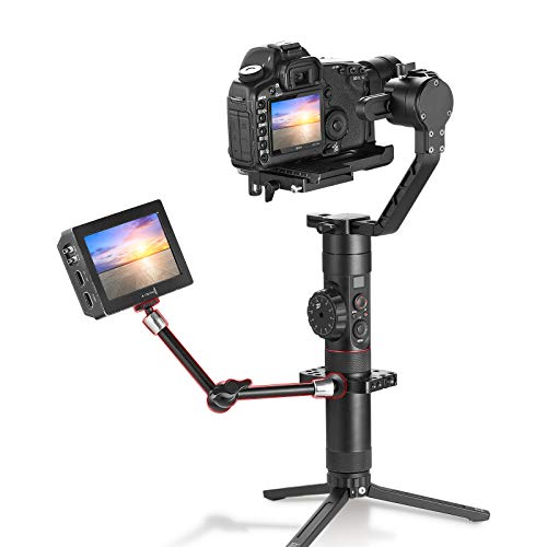 2066 SMALLRIG 11 inch Adjustable Articulating Magic Arm with Both 1//4 Thread Screw for LCD Monitor//LED Lights