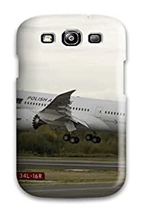Protective Tpu Case With Fashion Design For Galaxy S3 (aicraft Boeing Lot )