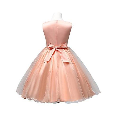 cf3cd8307 Beauty-Emily - Vestido - Noche - para niña Delicado - www.tygshop.top
