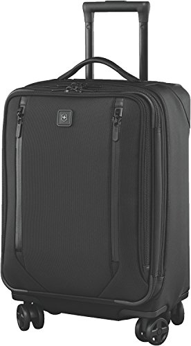 Victorinox Lexicon 2.0 Dual-Caster Global Expandable Spinner Carry-on, Black by Victorinox