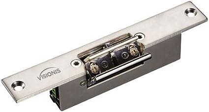 Visionis VIS-UMINI-120 U Bracket for 120lb Electric Maglock for Glass Doors