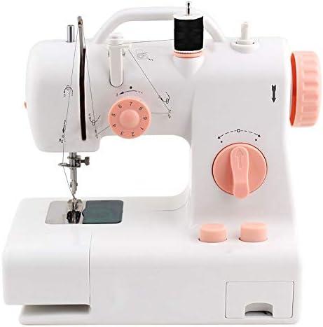 BXWQPP Maquina de Coser Portátil Herramienta de Puntada Rápida para Tela Ropa Tela de Niños Viaje Casa Heavy Duty Automatic Sewing Machine Manual Dedicado,A: Amazon.es: Hogar