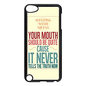 Customizable Sleeping With Sirens Lyrics Beautiful Words Fashionable iPod Touch 5th Generation Back Phone Case