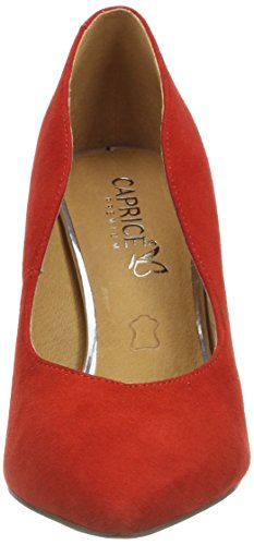 Caprice Women's 22412 Closed-Toe Pumps Red (Red Suede 530) X8nYt8