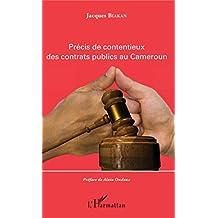 Précis de contentieux des contrats publics au Cameroun