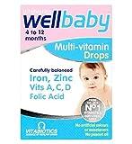 Vitabiotics Wellbaby 4 to 12 Months Multi-Vitamin Drops 30ml