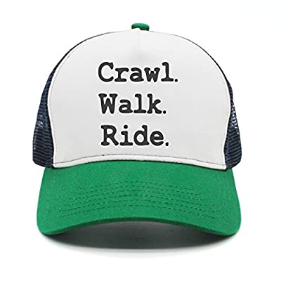 Youth Crawl Walk Ride Mesh Football Caps Black from Bikini bag