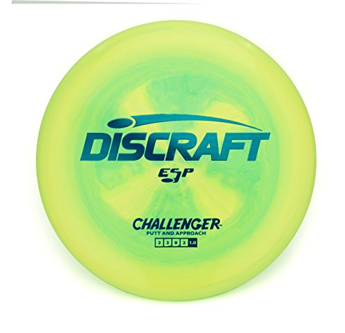 Discraft ESP Challenger Putt and Approach Golf Disc [Colors May Vary] - 173-174g