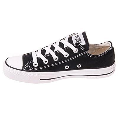 Converse Unisex Chuck Taylor All Star Low Top Black Sneakers - 4.5 Men 6.5 Women