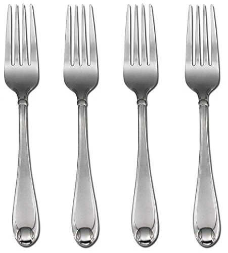 Oneida Satin Garnet Dinner Forks, Set of 4 SYNCHKG058555