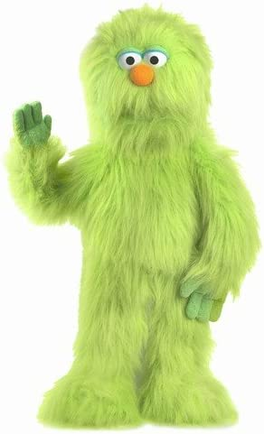 "B000ZKAUVO 30"" Green Monster Puppet, Full Body Ventriloquist Style Puppet 41iGqo-rMJL"