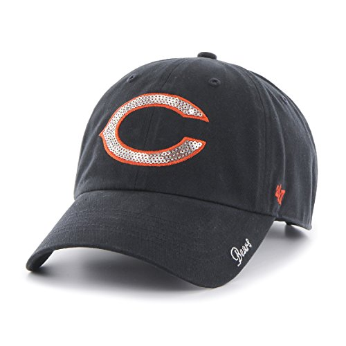 Chicago Bears Kids Accessories - NFL Chicago Bears Women's Sparkle Team Color, Navy