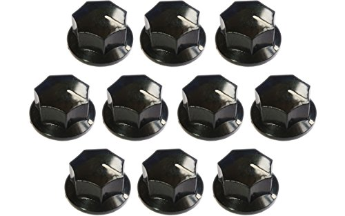 dio Knobs Audio Knob Replacement 33x18mm Shaft Hole 6mm for Electronic Volume Control (Electronic Volume Control)