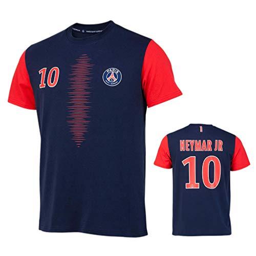 9b870326a0d93 PSG - Official Paris Saint-Germain 'Neymar Jr' Kids T-Shirt - Blue, Red (12  Years)