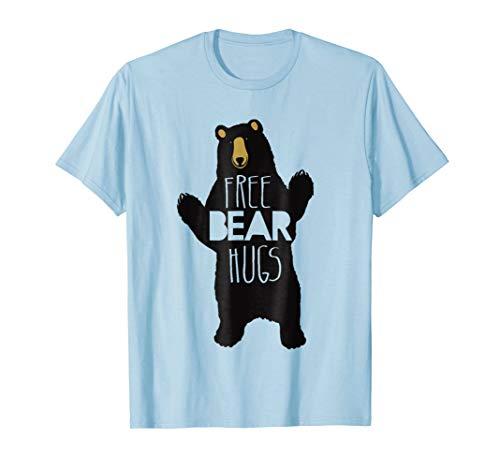 - Free Bear Hugs T-Shirt Funny Bear Humor