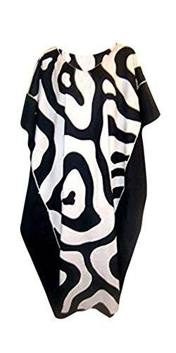 New Cool diseño de piel de cebra kaftán con estampado Animal para Nochevieja Fine vestidos largos rayón kaftán colores blanco y negro Plus Amazing Cool Exclusive kaftán caftán