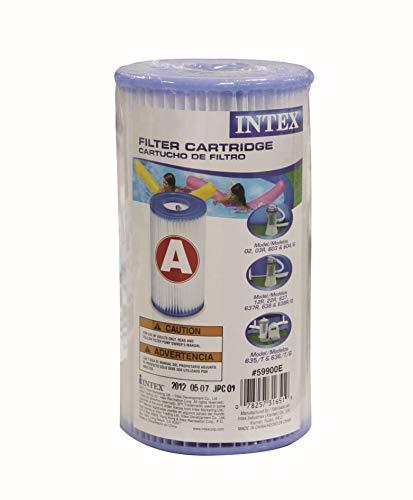 Intex 29000 - Cartucho tipo A altura 20,2 cm & diámetros 10,8/5 cm: Amazon.es: Jardín