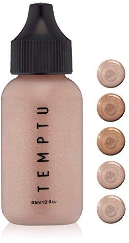 Temptu Perfect Canvas Highlighter  Pink Pearl Bottle, 1 Fl Oz