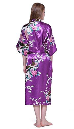 Viola Canotte donna giapponese lunghe Kimono da HonourSport YOd0qw0