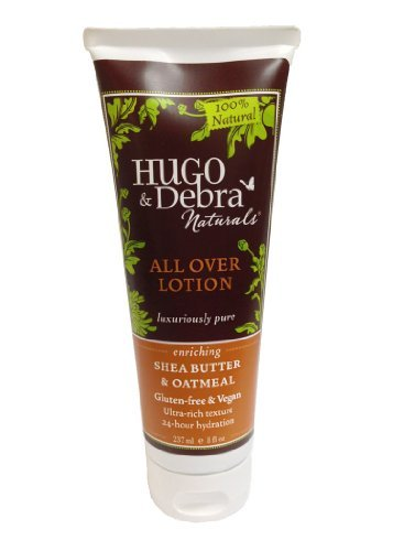 All Over Lotion, Shea Butter & Oatmeal, 8 fl oz (236 ml) by Hugo Naturals