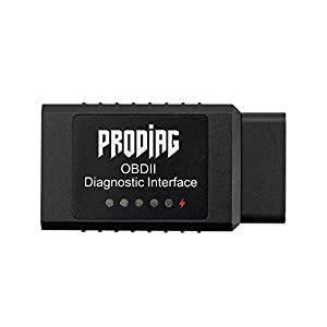 Car OBDII Bluetooth Scan Tool ELM327 Bluetooth Adapter Scanner ODB 2 Check Engine Light Code Reader Diagnostic Tool for Android ( 24K80 Chin) (Bluetooth Scan Tool)