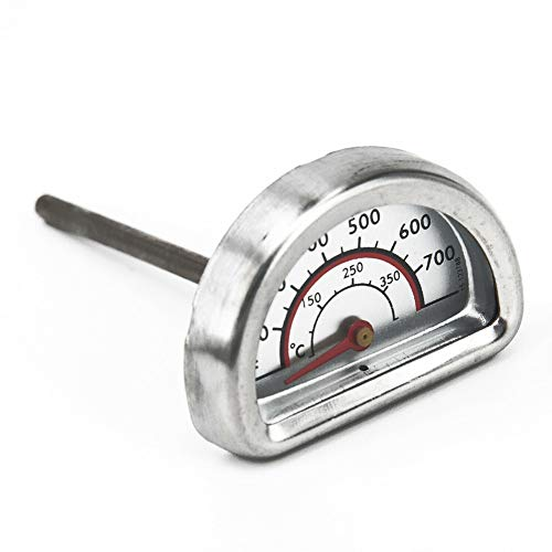Professional For Charbroil Temperature Gauge, Heat Indicator Dial Display Barbecue Stainless Steel Food Semicircle – Temperature Gauge For Grill, Jenn Air Barbecue, Jenn Air Bbq, Egg Indicator