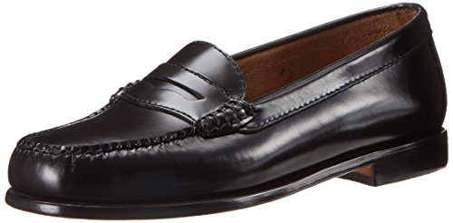 Mature women in penny loafers
