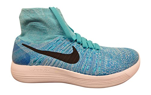 NIKE Lunarepic Shoes Women's Flyknit Blue Running pwpPnSrq