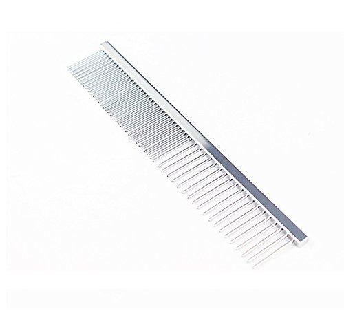 (NEW BABY NBY Dog Comb,Undercoat Pet Grooming Comb Tool,Flat Comb,Professional Cat Dog Comb (Comb 1))