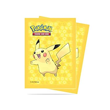 POKEMON 65 FUNDAS PIKACHU ULTRA PRO PARA POKEMON TCG: Amazon ...