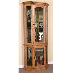 Sunny Designs Sedona 5 Side Curio Cabinet