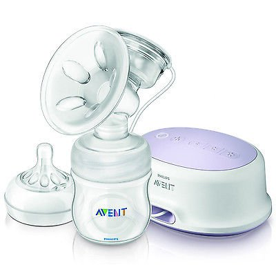 Philips Avent New Baby Natural Comfort Single Electric Breast Pump Scf332/01