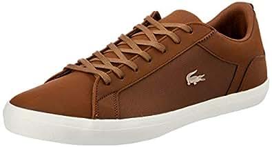 Lacoste Men's Lerond 119 4 Fashion Shoes, BRW/Off WHT, 10 US